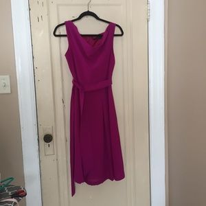 The Limited Magenta Dress